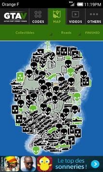 Map & Cheats for GTA V 스크린샷 2