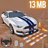 Tricky Car Parking 3D: GBT Car Games icon