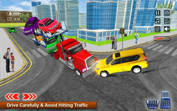 Transporter Games Multistory Car Transport screenshot 4