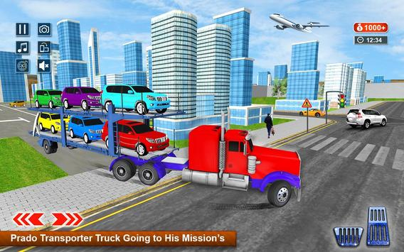 Transporter Games Multistory Car Transport screenshot 1
