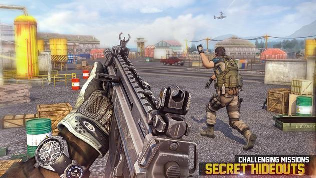 bắn súng Commando mới 2019: Trò chơi