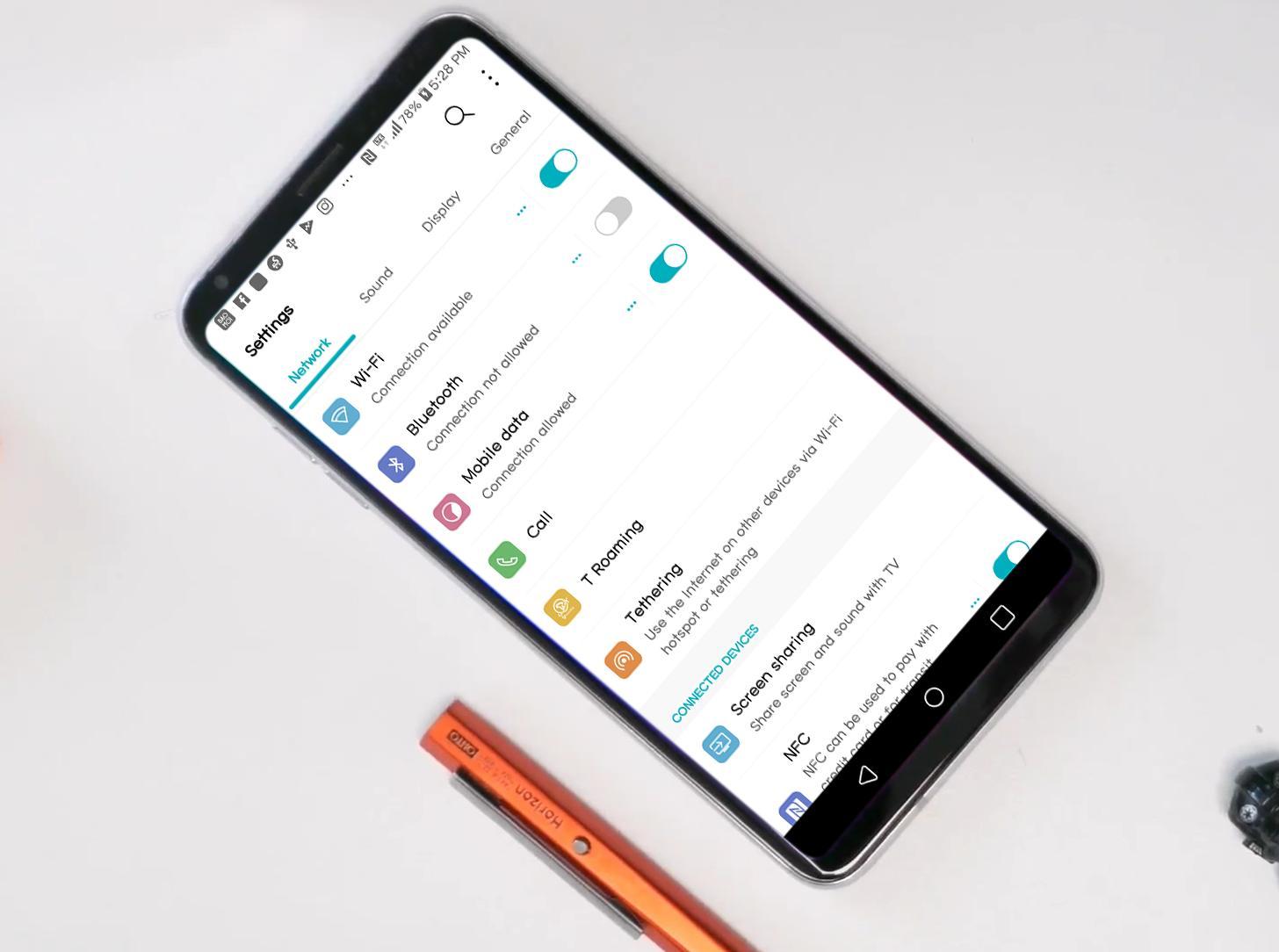 G8 Theme for LG V30 G6 V20 G5 for Android - APK Download