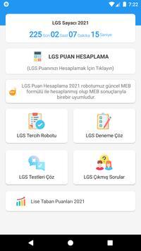 LGS Puan Hesaplama 2021 poster