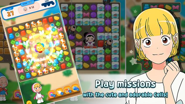 Yumi's Cells the Puzzle poster