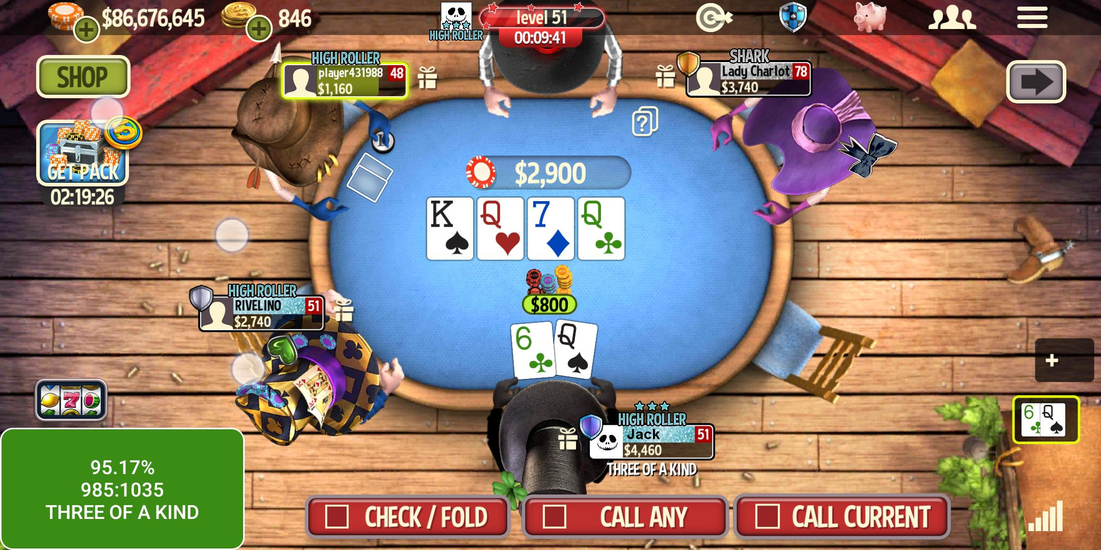 governor of poker 5 free download