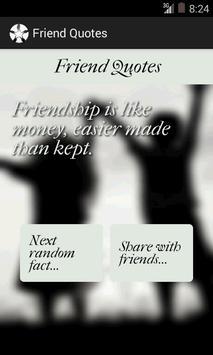 Friend Quotes screenshot 1