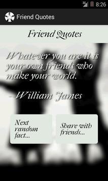Friend Quotes screenshot 4