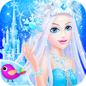 Download Game Educational apk android Princess Salon: Frozen Party terbaik