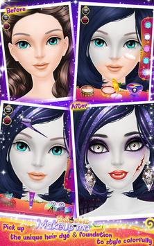 Halloween Makeup Me screenshot 2