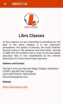 Librs Classes screenshot 1
