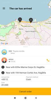 Guam taxi screenshot 2