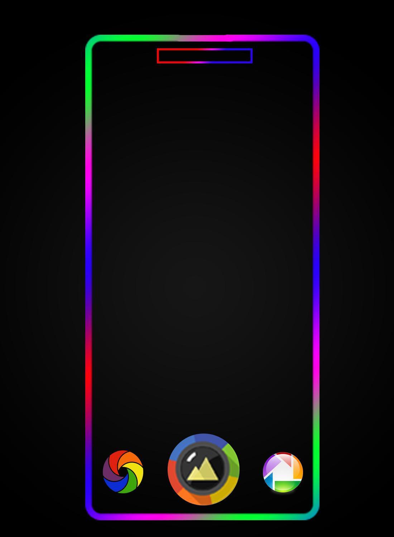 BorderLight Edge Wallpaper : RGB Live ...