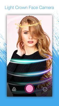 Light Crown Face Camera - Neon Effect screenshot 2