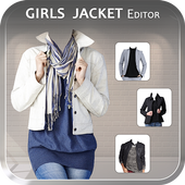 Woman Jacket Photo Editor icon