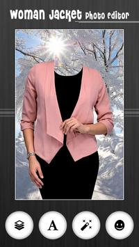 Woman Jacket Photo Editor screenshot 1