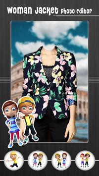 Woman Jacket Photo Editor screenshot 3