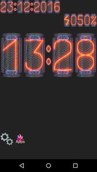 Nixie Night Clock screenshot 2