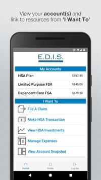 EDIS Debit Card Solution poster
