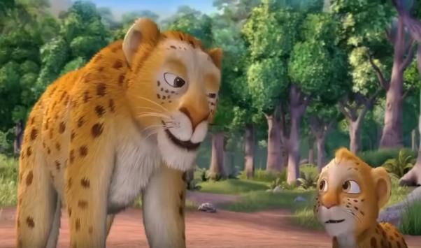 Lion Cartoon poster