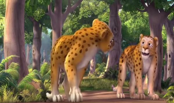 Lion Cartoon screenshot 3