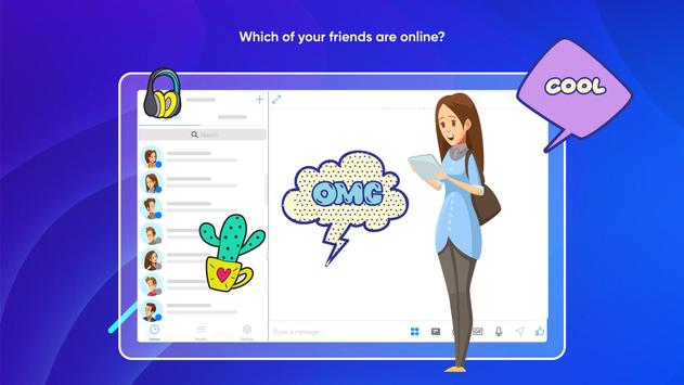 Messenger Light for SMS Online - Video Chat screenshot 11