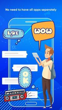 Messenger Light for SMS Online - Video Chat screenshot 1