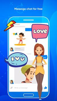Messenger Light for SMS Online - Video Chat screenshot 2
