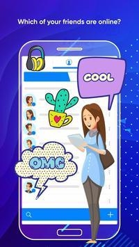 Messenger Light for SMS Online - Video Chat screenshot 4