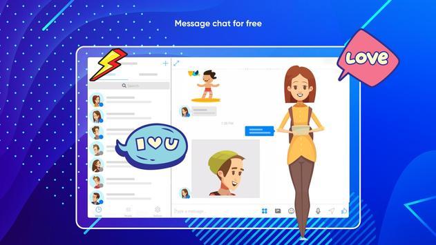 Messenger Light for SMS Online - Video Chat screenshot 9