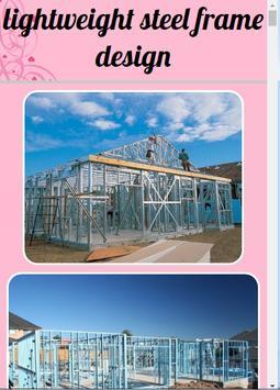 Lightweight Steel Frame Design poster