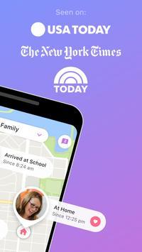 1 Schermata Localizzatore GPS per Famiglia