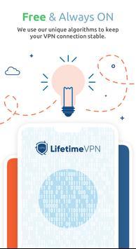 LifetimeVPN - Fast Secure and Free VPN Proxy screenshot 4