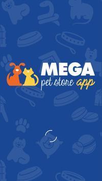 Mega Pet Store APP Cartaz