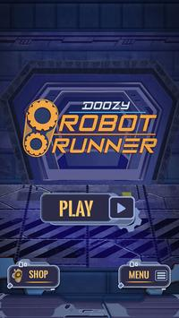 Doozy Robot Runner ポスター