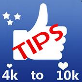 4K to 10K Guide for Auto Likes & follower biểu tượng