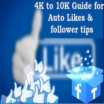 4K to 10K Guide for Auto Likes & follower ảnh chụp màn hình 3