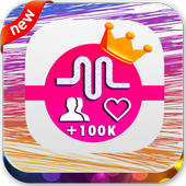 Free Fans Followers - Fans and Likes for Musically icono