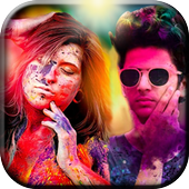 Holi Photo Editor App 2019 icon
