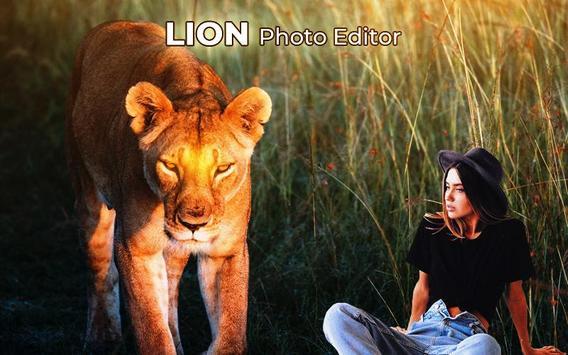 Lion Photo Frame screenshot 1