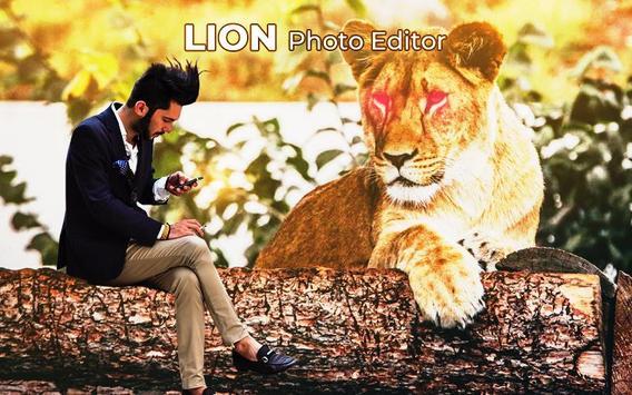 Lion Photo Frame screenshot 2