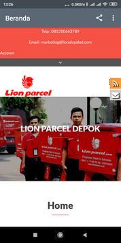 LionAirPaket - Lion Parcel Depok poster