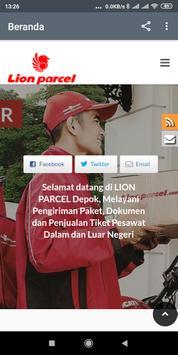 LionAirPaket - Lion Parcel Depok screenshot 1