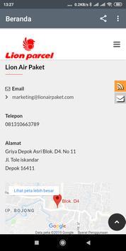 LionAirPaket - Lion Parcel Depok screenshot 2