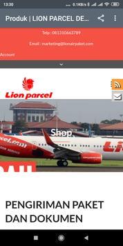 LionAirPaket - Lion Parcel Depok screenshot 3