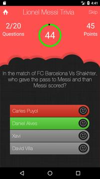 UnOfficial Lionel Messi Trivia Quiz Game screenshot 3