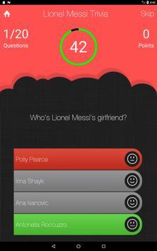 UnOfficial Lionel Messi Trivia Quiz Game screenshot 6