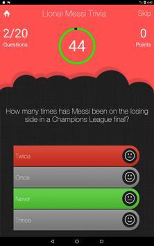 UnOfficial Lionel Messi Trivia Quiz Game screenshot 7