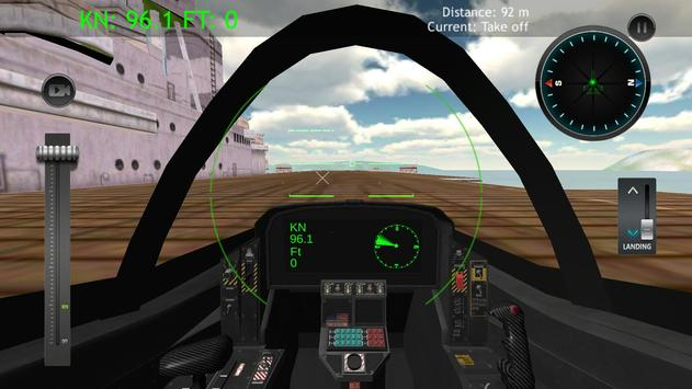 Military Airplane Jets Simulator poster
