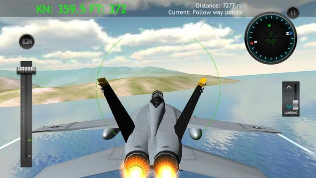Military Airplane Jets Simulator screenshot 3