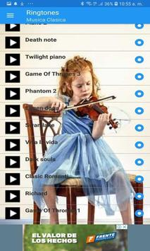 Classic Music Ringtones screenshot 3
